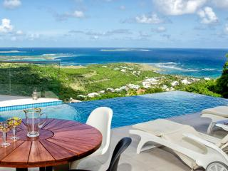 Villa L'Agua SPECIAL OFFER: St. Martin Villa 203 The Villa Offers Breathtaking Views Of The Ocean And Orient Bay. - Oyster Pond vacation rentals