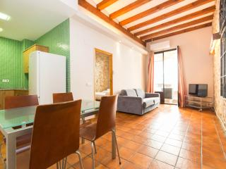 Stylish 2 bedroom apartment steps from Las Ramblas - Barcelona vacation rentals