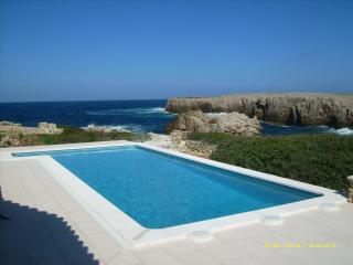 Punta Grossa Sea Frontline House, 180 deg panorami - Mercadal vacation rentals