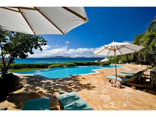 Luxury 4 bedroom Virgin Gorda, BVI villa. Beachfront! - Spanish Town vacation rentals