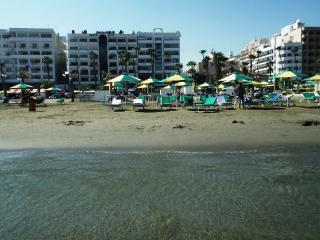 Sunorama waterfront apartment on Finikoudes beach - Larnaca District vacation rentals