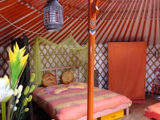 Nice Yurt with Shared Outdoor Pool and Balcony - Lougratte vacation rentals