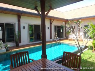 Villa for rent, in Nai Harn, 3 bedroom, private pool, beautiful garden - World vacation rentals