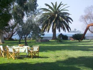 Waterfront Villa Eretria with private beach - Eretria vacation rentals