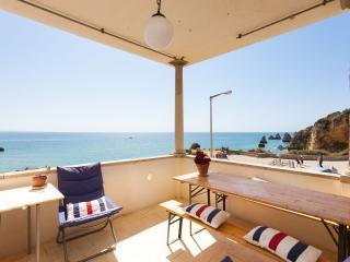 Seaview veranda apartment above the beach - Lagos vacation rentals