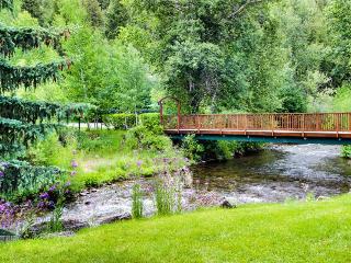 Dog-friendly condo, walk to ski lifts, shared pool and hot tub access! - Ketchum vacation rentals