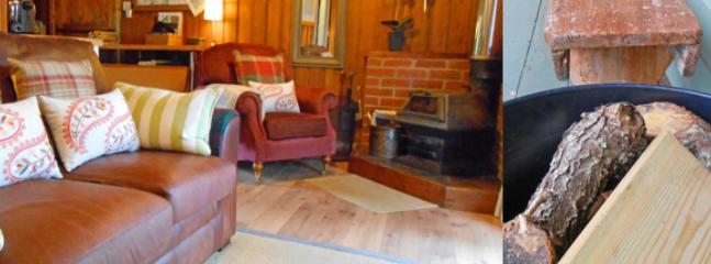 Kippford: sea view & log stove. Dogs welcome - Kippford vacation rentals