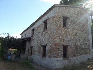 Cottage on hill in Montefiore Italy with seaview - Montefiore Conca vacation rentals