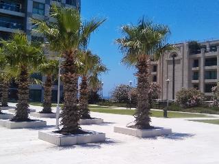 4 rooms with garden & pool, on beach Okeanosbamari - Tel Aviv District vacation rentals