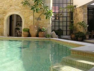 Venetian oil factory, heated pool (owner Booking) - Rethymnon vacation rentals