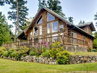 Bright, rustic cabin w/ breathtaking bay & ocean views! - Lopez Island vacation rentals