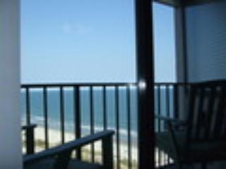 View from balcony - Amazing Studio in Myrtle Beach with Incredible Coa - Myrtle Beach - rentals
