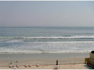 Balcony View of Atlantic Ocean beach - Beach Front Ocean 7 Resort for  Dream vacation ! - Daytona Beach - rentals