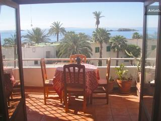 Beach view apartment with terrace - Ibiza Town vacation rentals