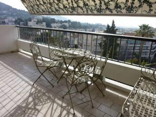 Le Cannet 2 bd apartment with sea view and terraces - Cannes vacation rentals