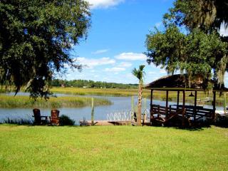 River Tide Cottage - On Tidal Creek/Big Marsh View - Shellman Bluff vacation rentals