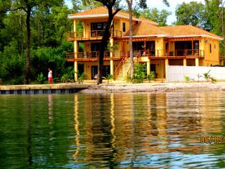 Executive Villa 5 bed/6 bath PRIVATE BEACH & DOCK from $99 24/7 Security - Stann Creek vacation rentals