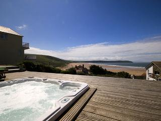 Thorpe-Woolacombe with seaview hot tub!! - Woolacombe vacation rentals