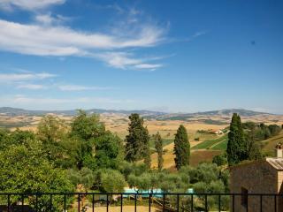 1 bedroom, top-floor flat in antique Tuscan villa with exceptional views of Volterra - Lajatico vacation rentals
