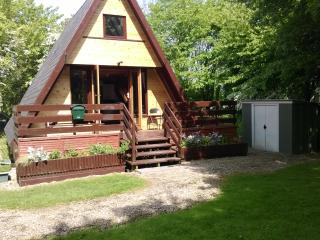 Quiet comfortable chalet in tranquil woodland - Grafham vacation rentals