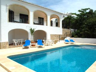 Javea, Villa Nido, sea view, private pool, aircon - Javea vacation rentals