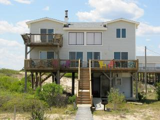 Oceanfrt Carova Cottage, Dog Friendly, 4X4 area! See Wild Horses! Private &Quiet - Corolla vacation rentals