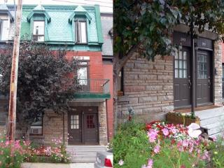 Drolet two-story apartment in Plateau Mont-Royal - Montreal vacation rentals