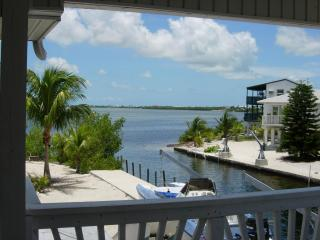 Water front-large boat dockage-seconds to the Bay - Cudjoe Key vacation rentals