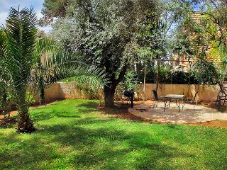 LUXURY SISTER APT ~  2 BDR ~ WITH LARGE GARDEN - Jerusalem vacation rentals