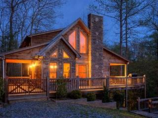 Pet Friendly Georgia Rental Cabin With Hot Tub - Blue Ridge vacation rentals