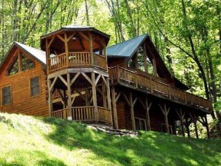 Bear Moon Lodge - The Mountain Experience to Remember - Seclusion, Convenient Location, Wi-Fi, and a Game Room with Pool Table - Dillsboro vacation rentals