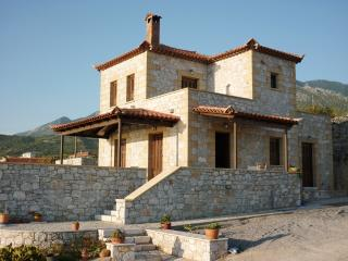 Hilltop villa in Stoupa, privacy, amazing sea view - Stoupa vacation rentals