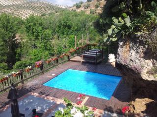 El Tajil, WIFI, jacuzzi, center of Andalucia, BBQ - Montefrio vacation rentals