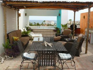 Private roof top terrace - Penthouse Condo-Golf & Ocean views/Private Terrace - San Jose Del Cabo - rentals
