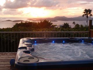 Plumeria: Great Ocean Views, Sunsets, Heated Pool, - Cruz Bay vacation rentals