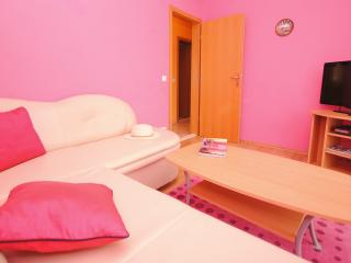 Colorful apt with seaview and garage for 5 - Arbanija vacation rentals