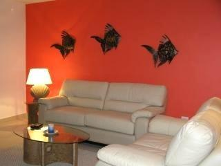 Comfy Living Room with pull-out bed - Luxury in Mexico! Lowest Rental Prices!! - Puerto Aventuras - rentals