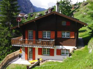 Chalet Trächa 3-bed-apartment - Randa vacation rentals