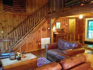 Converted Barn on Mountain Farm near Pisgah & DuPont Forests - Brevard vacation rentals