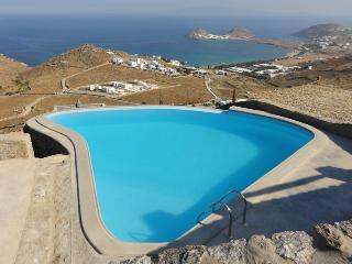 Blue Villas | Lilium | Peace and seaview - Kalafatis vacation rentals