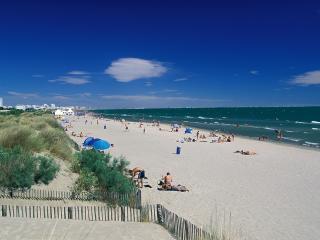 BORD DE MER STUDIO plage devant - PISCINE PARKING - La Grande-Motte vacation rentals