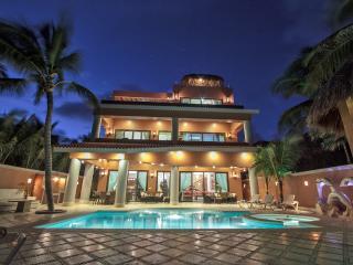 Luxurious beachfront Soliman Bay villa Lol-Beh - Tulum vacation rentals