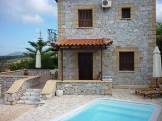 Stylish villa in Stoupa, privacy, amazing sea view - Stoupa vacation rentals