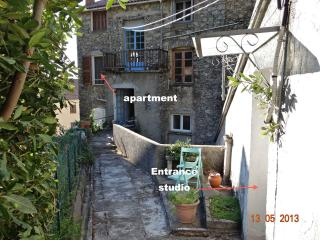 Unique in Corsica: apart+minicottage in Med garden - Venaco vacation rentals