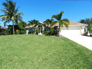 Villa Katherine - 3/2 Electric Heated Pool Home, Lakefront, High Speed Internet - Cape Coral vacation rentals