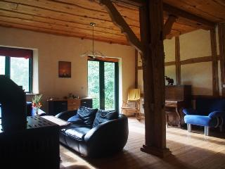 Nice Farmhouse Barn with Deck and Internet Access - Alt Jargenow vacation rentals