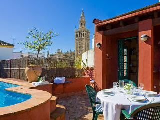 Patio de Sevilla I-In the heart of the city - El Rubio vacation rentals
