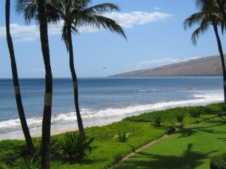 2BR oceanfront condos - Kihei Sands on Sugar Beach - Kihei vacation rentals