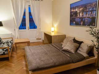 Luxury apt 2-7 w/2 balconies - Prague vacation rentals