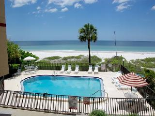 Wonderful Gulf Front Unit in a Small Complex! Heated Pool! - Indian Shores vacation rentals